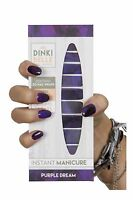 DinkiBelle Purple Dream Nail Wraps lasts up to 14days UK quality SALE