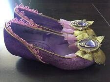 Disney Store Princess Dress-Up Shoes Rapunzel Toddler Girls Size 11/12