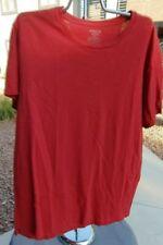 Vince T-Shirt Red Crew Neck Soft Peruvian Cotton Tee Men's XL