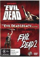 Evil Dead / Evil Dead II (DVD, 2013)  regions 2,4 (Bruce Campbell)