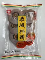 Red Diamond Dried Persimmon 12 Oz. Package Approx. 6 Dried Persimmons