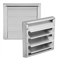 Stainless Steel Square Wall Air Vent Ducting Ventilation Exhaust Grille Outlet