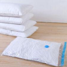 Vacuum Compression Storage Bag, Reusable,Ergonomic, Waterproof for Storage E