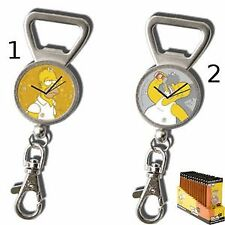 Simpson Porte-clé + horloge + décapsuleur Bière★★★