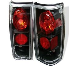 Fits 95-04 Chevy S10 Blazer Black Tail Brake Lights Lamps Left+Right set.