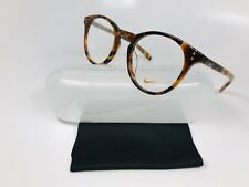 c99df0a2ece New Authentic NIKE 36KD 210 Round Tokyo Tortoise Eyeglasses 49mm with Case