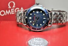 Omega 007 Seamaster ltd edition automatic co-axial gents stainless steel watch