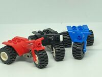 Genuine Lego Tricycle / Motorcycle / Motorbike Various Colours