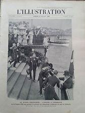 """L' ILLUSTRATION 1908 N 3413 """" VOYAGE A COPENHAGUE DE M.ARMAND FALLIERES """""""
