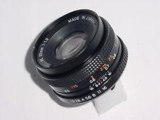 Yashica 50mm F/1.9 ML Standard Manual Focus Lens Y/C Mount