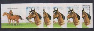 U459. 5x Sahara - MNH - Animals - Horses - 1993