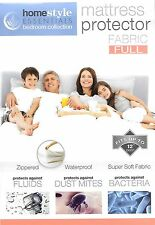2 packs---mattress protector-Zippered Fabric Waterproof Bed Bug Allergy