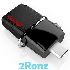 SanDisk Ultra Dual 3.0 OTG 128GB 128G USB 3.0 Flash Disk Drive Micro-USB SDDD2