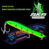 1PC Plastic Hard Popper Fishing Lure 10 Colors Bass Baits Fishing Tackle 8# Hook
