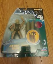 Star trek Jem'HADAR SOLDIER action figure signed by James Horan Ikat'Ika ds9