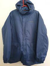 Peter Storm Mens Blue Large Waterpoof Coat Jacket Storm Shield +