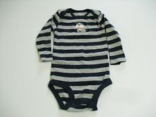 CARTERS 6 MONTH BOYS BODYSUIT DOGS,AND STRIPES (GENTLY PREOWNED)