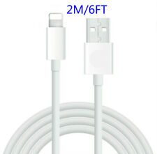 6FT USB Cable For Original Apple iPhone 11 Pro XS XR MAX 8 7 6 Lightning Charger