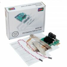 Syba 4 Port SATA III PCI-e 2.0 x1 Card ( Model SD-PEX40099 )