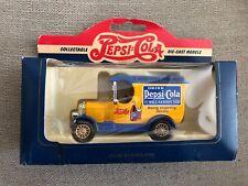 Pepsi-Cola Collectable Die-Cast Model #50010 1926 Bull Nose Morris Van NIB