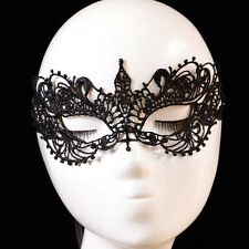 HIGHWAY LACE MASQUERADE EYE MASK FANCY DRESS BALL PARTY WHITBY GOTH ROCK  GIFT