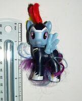Power Ponies Rainbow Dash Zapp : G4 Hasbro MLP My Little Pony Brushable