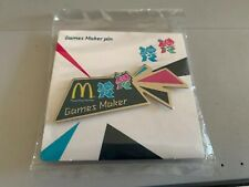 London 2012 Olympics Mcdonalds Gamesmaker Pin Badge New In Packet