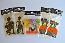Halloween Party Supplies 90 Treat Bags Assorted Spider Skeleton Black Cat