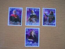 GIBRALTAR,2009,EUROPA ISSUE,4 VALS,COMPLETE,U/M,CAT £9.40..