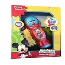 Disney Junior Mickey Mouse Clubhouse Mickey Projector Light Flashlight With Toy