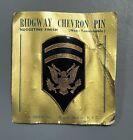 1950's US Army Specialist 6 Large Cap Insignia on Original Sales CardOriginal Period Items - 586