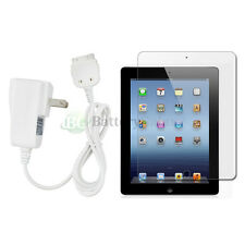 """Home Wall AC Charger+LCD Screen Protector for Apple iPad 3 3rd Gen Tablet 9.7"""""""