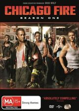Chicago Fire: Season 1 (DVD, 6-Disc Set)   Region 4 - very good condition  t32
