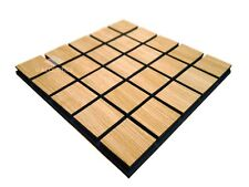 4pcs 50*50*3cm sound absorption/diffuse acoustic panel with wood/foam rec.studio
