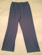 The TOG Shop Women's Pants Size XL Light Blue Elastic Waist Slacks EUC