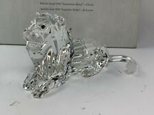 Estate Swarovski Crystal Inspiration Africa Annual 1995 Lion in Box