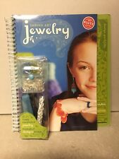 Shrink Art Jewelry Making Klutz Book & Activity Kit. New