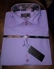 H2O Collection Lavender Long Sleeve Button Front Shirt Large New with Tags