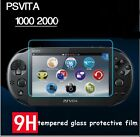Tempered Glass Film Screen Protector + backing film For PS Vita PSV 2000 1000