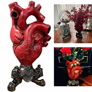 New Anatomical Heart Vase Flower Pot Desktop Ornament Shelf Decor Flower vase_yk