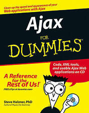 NEW Ajax For Dummies by Steve Holzner