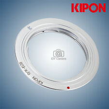 New Kipon adapter for Pentax K Mount lens to Canon EOS EF mount camera