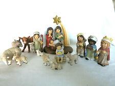 Goebel Weihnacht Engel N & M  Midi Krippe Heilige Familie  Schäfer