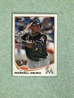 2013 Topps Update #US279 Marcell Ozuna Rookie Card Miami Marlins RC🔥
