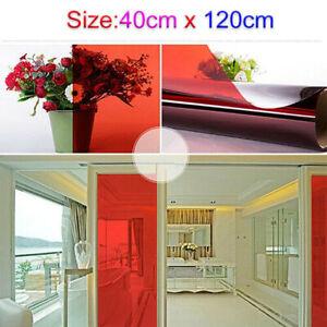 40*120cm Color Decor Window Glass Sticker Film Solar Tint Window Vinyl Roll DIY