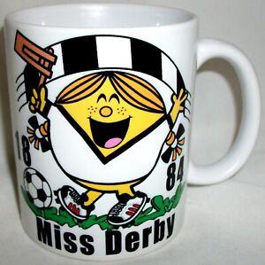 Funny Miss Derby Coffee Tea Mug Football Shirt Mothers Day Girlfriend Gift