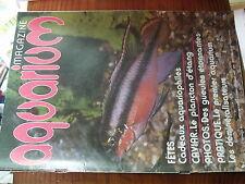 µ? Revue Aquarium Magazine n°5 Demineralisateur Filtre Plancton d'étang
