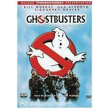 GHOSTBUSTERS - COLLECTOR'S EDITION (DVD) R-4, LIKE NEW, FREE POST IN AUSTRALIA