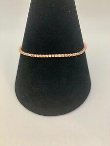 14k Rose Gold 1.88ct not 2.00ct Diamond Tennis Bracelet