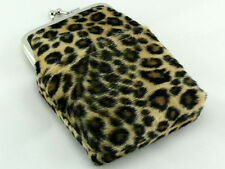 Leopard Cigarette Case Purse Pack Holder Pouch with Lighter Holder